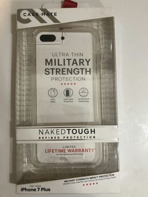 Brand new clear case casemate military strength for iphone 7 plus or iphone 8 plus for Sale in Davie, FL
