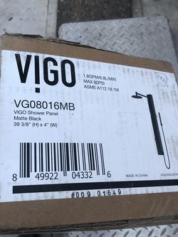 Hermosa Regadera Nueva Para Shower Marca Vigo for Sale in Carson,  CA