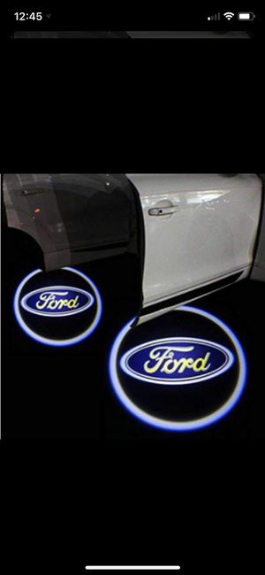 Brand New 2 pcs Universal Wireless Car Projection LED Projector Door Shadow Light Welcome Light Laser Emblem Logo Lamps Kit, No Drilling for Sale in Blacklick, OH