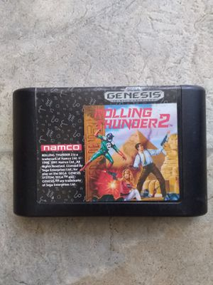 Rolling Thunder 2 Sega Genesis for Sale in Fresno, CA