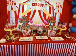 Circus Carnival Birthday Party Decorations Set up for Sale in Menifee, CA