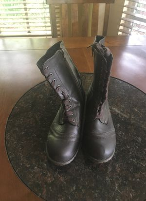 Brown Lace -Up Boots for Sale in Brandon, FL