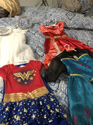 Four Little Girl Costumes for Sale in Bakersfield, CA