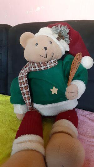 Christmas Teddy Bear for Sale in Chesapeake, VA