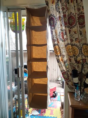 Closet hanging organizer for Sale in Fresno, CA