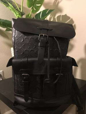 Mens Coach Backpack for Sale in La Habra, CA