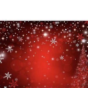 7X5ft Durable/Soft Fabric Winter Red and Christmas Tree Backdrop for Photography Snowflake Bokeh Photo Background Banner Studio Props Christmas Party for Sale in Buena Park, CA