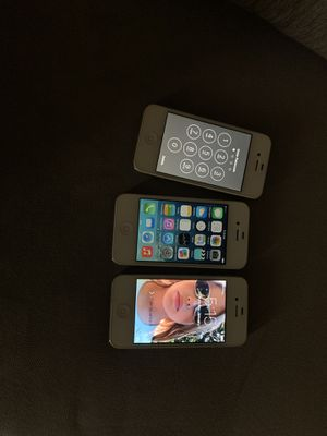 3 iPhone 4S for Sale in Lake Worth, FL