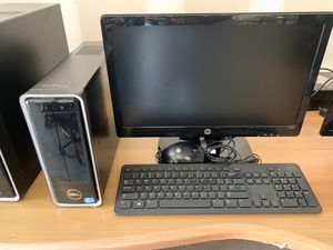 Computer monitor and CPU system with keyboard and mouse for Sale in Davie, FL