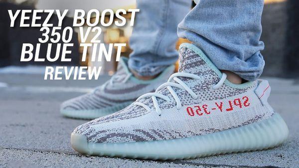Yeezy blue tint size 12,5 like new $200 adidas