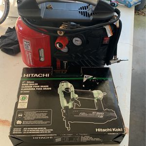 Nail Gun And Compressor for Sale in Haines City, FL