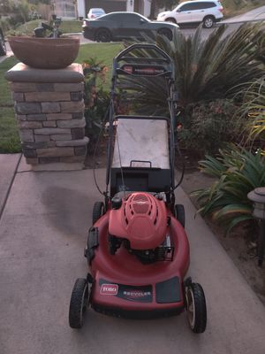 Toro SELF PROPELLED LAWN MOWER 6.5 HP IN GOOD WORKING CONDITIONS for Sale in Riverside, CA