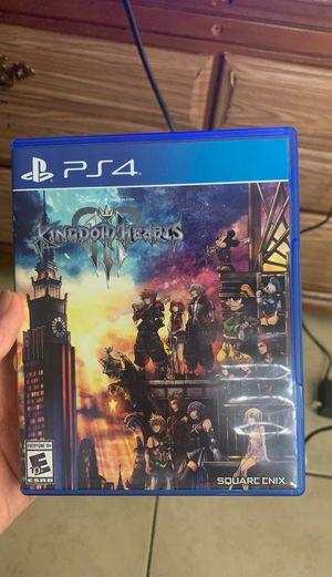 Kingdom Hearts 3 (PS4) $10 for Sale in Las Vegas, NV