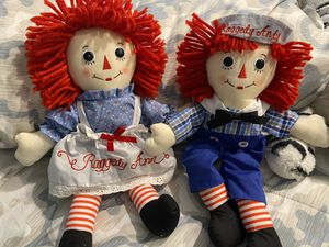 Raggedy Ann and Andy dolls for Sale in Palmetto, FL