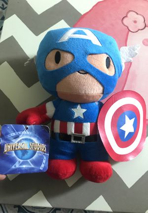 Captain America plush toy for Sale in Houston, TX