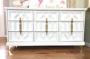 Bassett Furniture Freshly Refinished Dresser for Sale in Wichita, KS