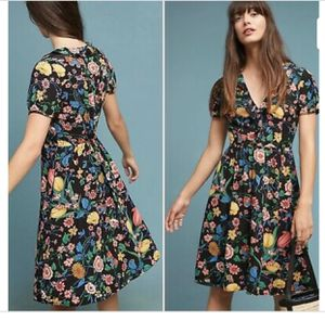 Anthropologie Maeve Bloedel floral Dress 6 for Sale in Chicago, IL