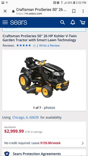 Riding Lawnmower, 23 Hp, 48 inch deck, auto for Sale in Lake Station, IN