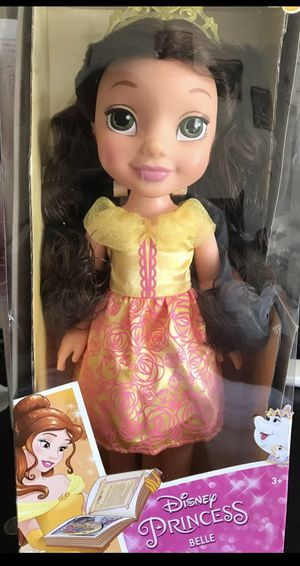 Disney Princess belle doll for Sale in Sunnyvale, CA