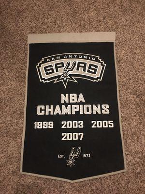 Stitched San Antonio Spurs Banner for Sale in San Antonio, TX