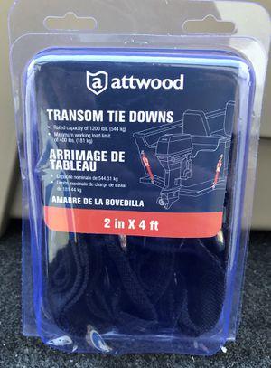 Boat Trailer Attwood 15232-7 Quick Release Transom Tie-Down Straps (trailer, boat, marine, boat engine, outboard) for Sale in Tamarac, FL