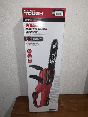 Hyper Tough 20V HT Charge Cordless 10 inch Auto-Oiling Chainsaw NEW for Sale in Miami, FL