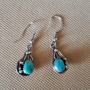Vintage Sterling Silver & Turquoise Earrings for Sale in Gilbert, AZ