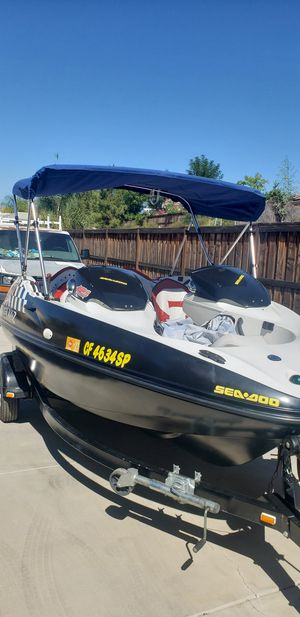 Seadoo Speedster Twin Rotax 800 motor jet boat for Sale in March Air Reserve Base, CA