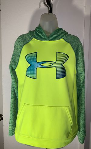 Neon Yellow/Green Underarmor hoodie for Sale in Montebello, CA