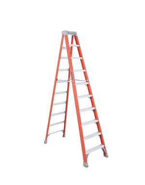 Louisville Ladder 10 ft. Fiberglass Step Ladder with 300 lbs. Load Capacity Type IA Duty Rating for Sale in Columbus, OH