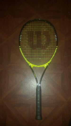 Wilson v matrix stop shock tennis racket for Sale in West Orange, NJ