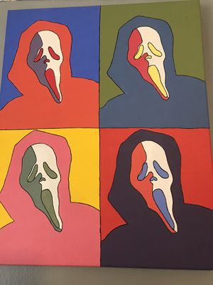 Scream Pop Art Painting for Sale in Compton, CA