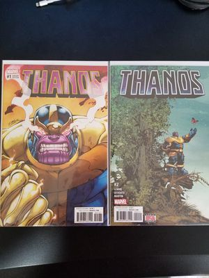 Thanos Comic #1-4 for Sale in Westminster, CO