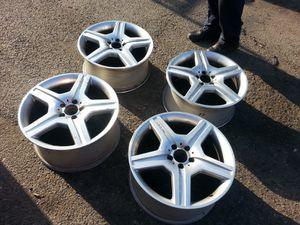 Set of 4 S550 AMG Mercedes-Benz 5 lug wheels for Sale in Washington, DC