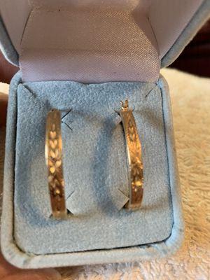 Hoop earrings for Sale in Greenbrier, TN