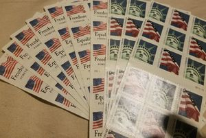 120 forever stamps for Sale in Davenport, IA