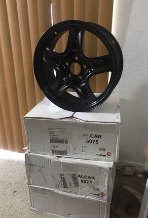 Alcar Swiss Made New Black Rims17x7 for Sale in Pine Hills, FL