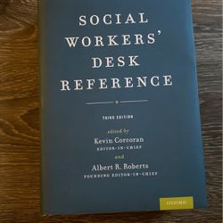 Social Workers' Desk Reference for Sale in Austin,  TX