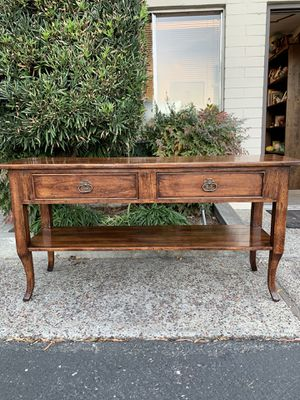 Gorgeous Console Table for Sale by a Bausman Furniture for Sale in Los Altos Hills, CA