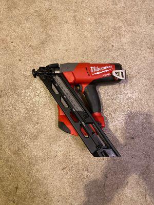 Milwaukee 15g nail gun for Sale in San Marcos, CA