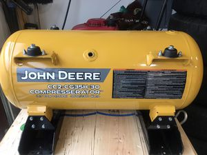 John Deere Air Compressor 30 Gallon Tank Only for Sale in Federal Way, WA