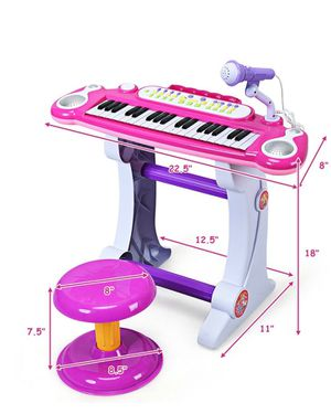 Kids piano and microphone for Sale in Fontana, CA