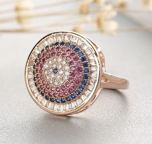 New rose gold plated evil eye ring for Sale in Algonquin, IL