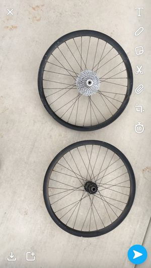 """26"""" P-AM 10 speed front and rear wheel for Sale in Spanish Fork, UT"""