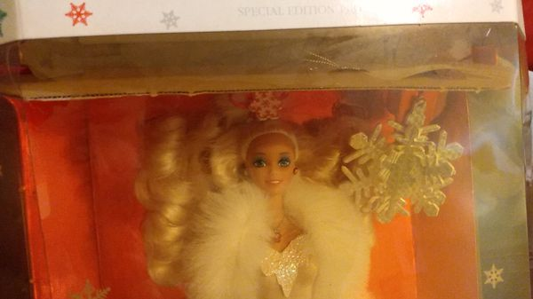 Special Edition Holiday Barbie from 1989