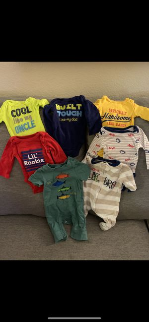 New born & 0-3 bundle for boy for Sale in San Jose, CA