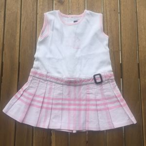 Dress Burberry 3 / 6 months pink baby kids girls for Sale in Miami, FL