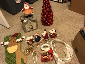 Christmas decorations for Sale in Henderson, NV
