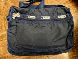 Navy blue LeSportSac bag tote purse crossbody never used 11x9 for Sale in Boulder, CO
