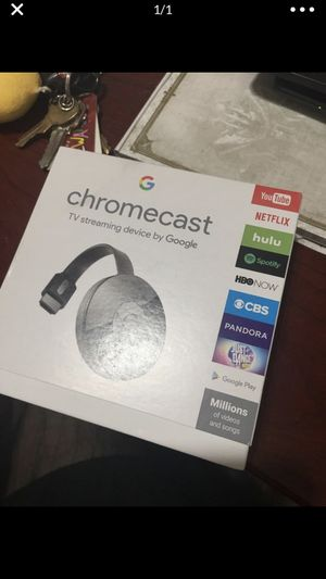 New chromecast for Sale in Austin, TX